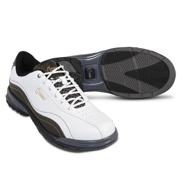Hammer Force Mens Performance Bowling Shoes White Carbon Right Hand Wide