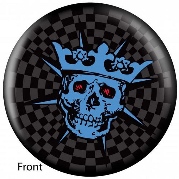 OTB Skull King Bowling ball