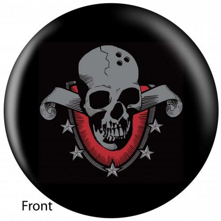 OTB Skull Shield Bowling ball