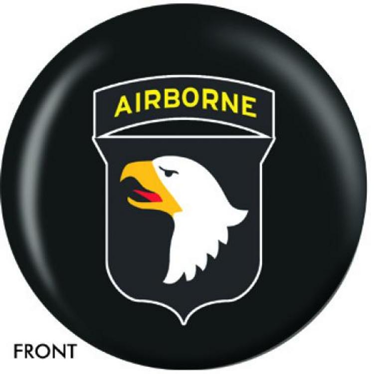 OTB 101st Airborne Bowling ball