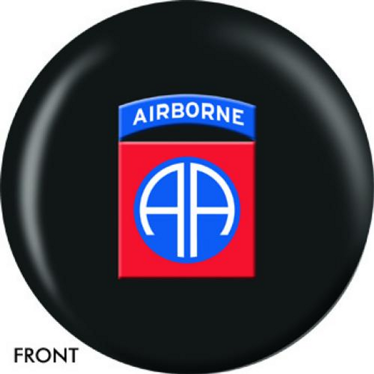 OTB 82nd Airborne Bowling ball