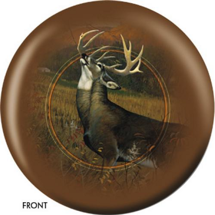 OTB Nature White Tailed Stag Bowling ball