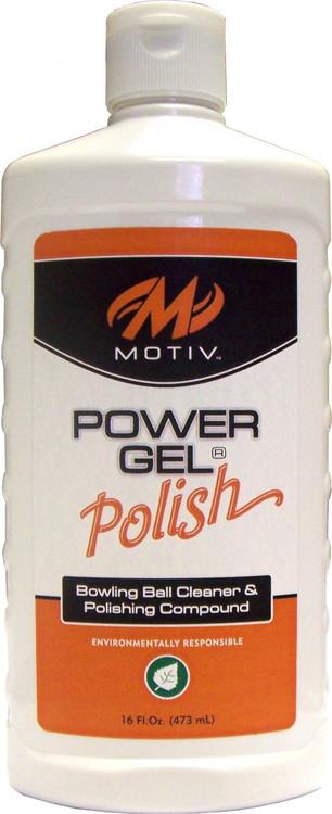 Motiv Power Gel Polish Bowling Ball Cleaner and Polishing Compound 16oz
