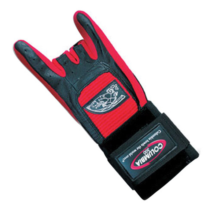 Columbia 300  Pro Wrist Glove Red Left Hand
