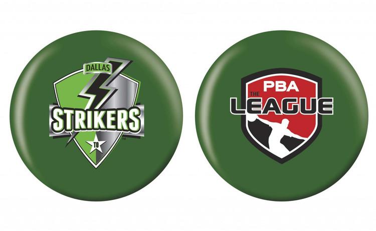 OTB PBA League Bowling Ball Dallas Strikers