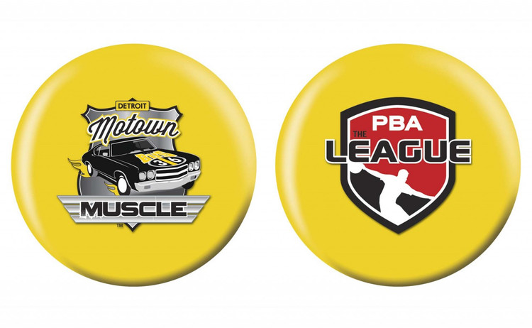 OTB PBA League Bowling Ball Detroit Motown Muscle