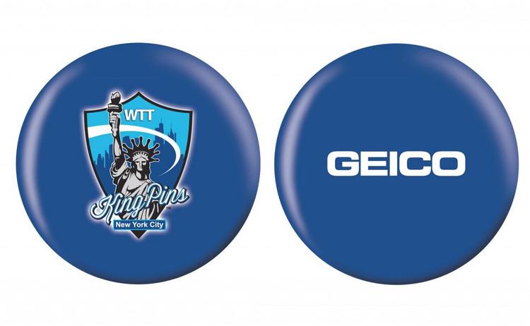 OTB PBA League Bowling Ball New York City WTT KingPins