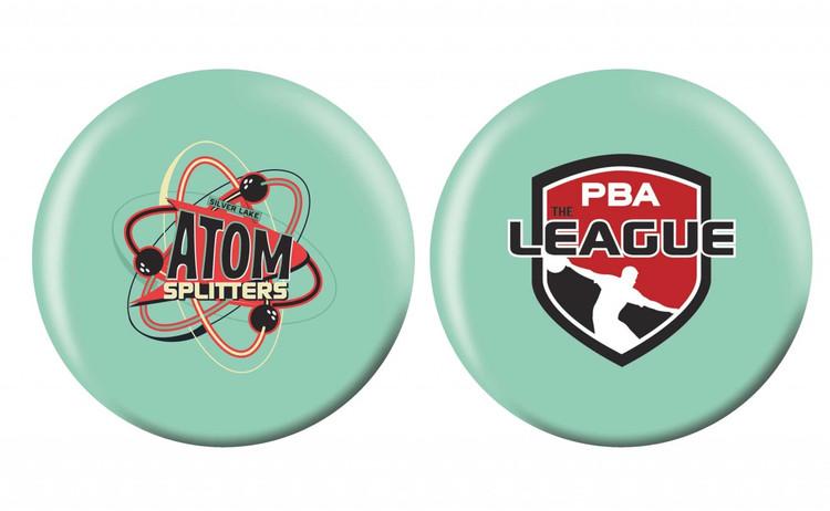 OTB PBA League Bowling Ball Silver Lake Atom Splitters
