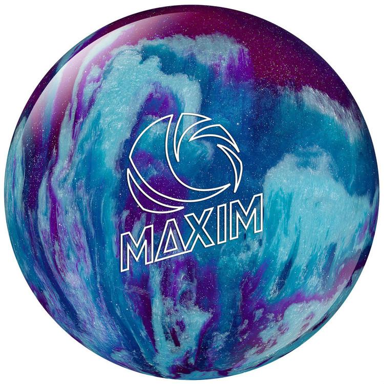 Ebonite Maxim Purple Royal Silver Bowling Ball