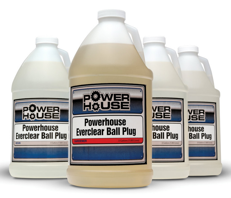 Powerhouse Everclear Ball Plug 2 Gallon Kit