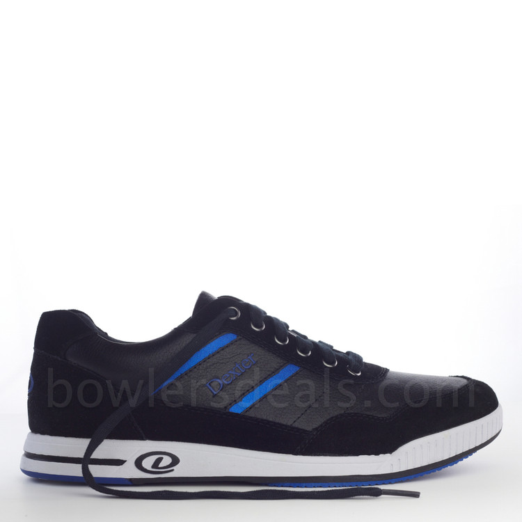 Dexter David Casual Comfort Mens Bowling Shoes Left Hand side view