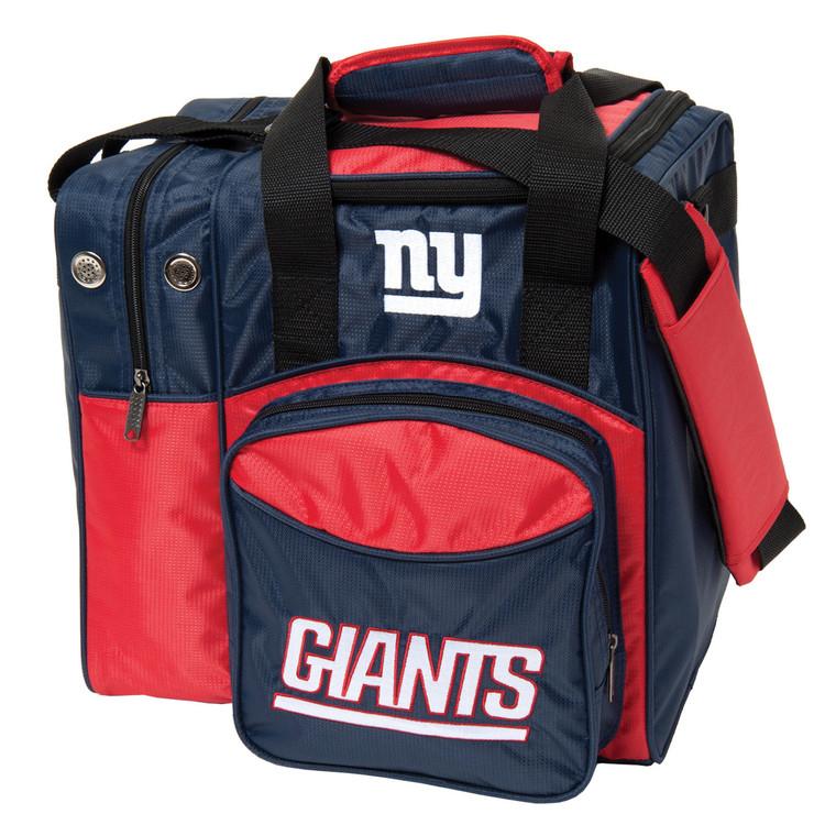NFL 1 Ball Single Tote Bowling Bag New York Giants