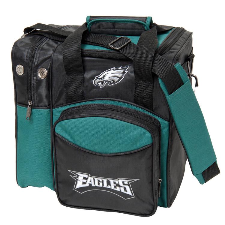 NFL 1 Ball Single Tote Bowling Bag Philiadelphia Eagles