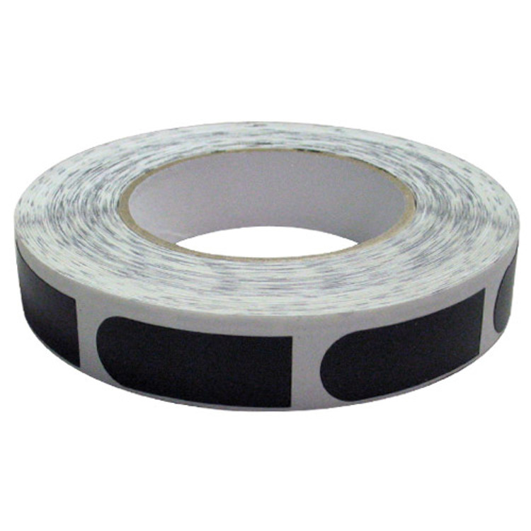 "Powerhouse 3/4"" Black Bowler's Tape 500 Roll"