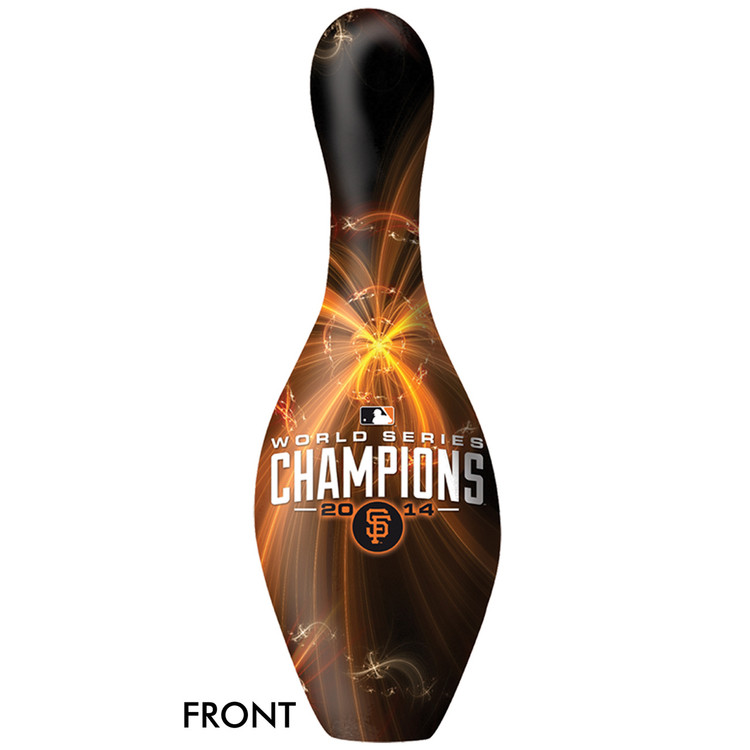 MLB San Francisco Giants World Series Champions 2014 Bowling Pin