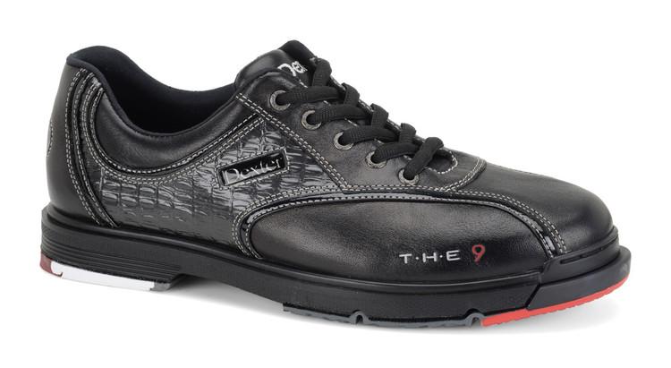 Dexter T.H.E. 9 Mens Bowling Shoes Black Wide Width