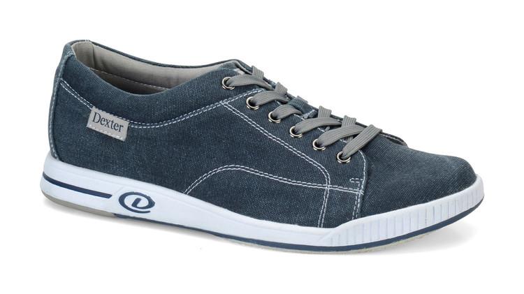 Dexter Kameron Comfort Canvas Mens Bowling Shoes side view