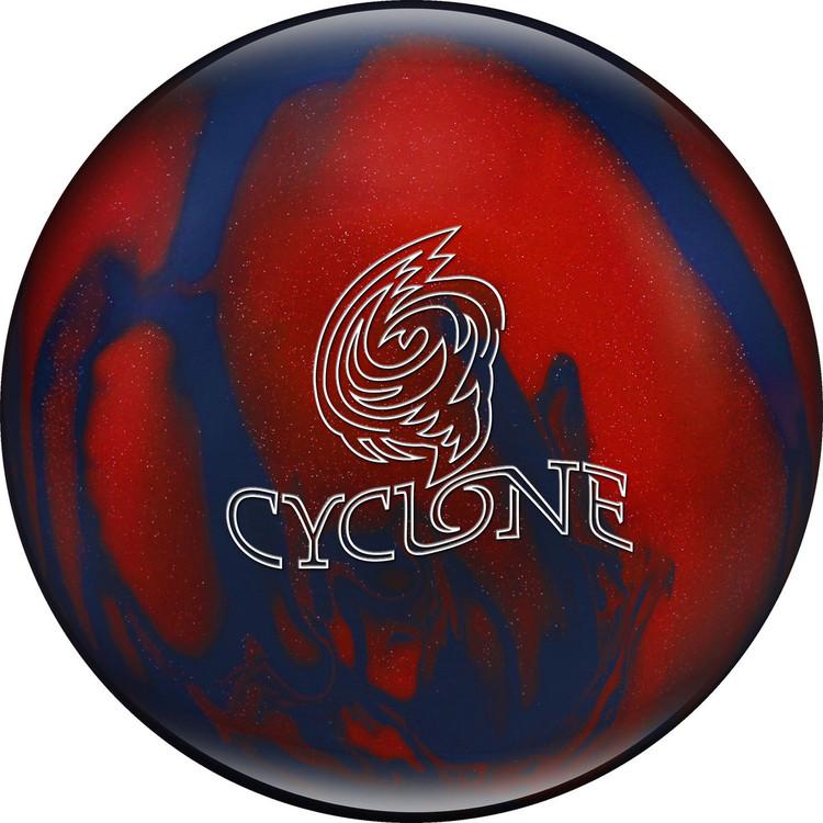 Ebonite Cyclone Bowling Ball Blue Red Sparkle
