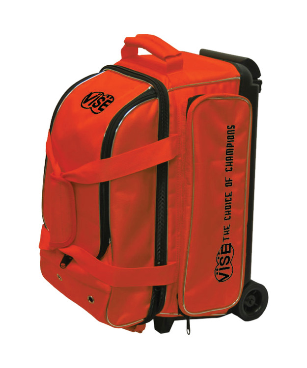 Vise 2 Ball Economy Roller Bowling Bag Orange