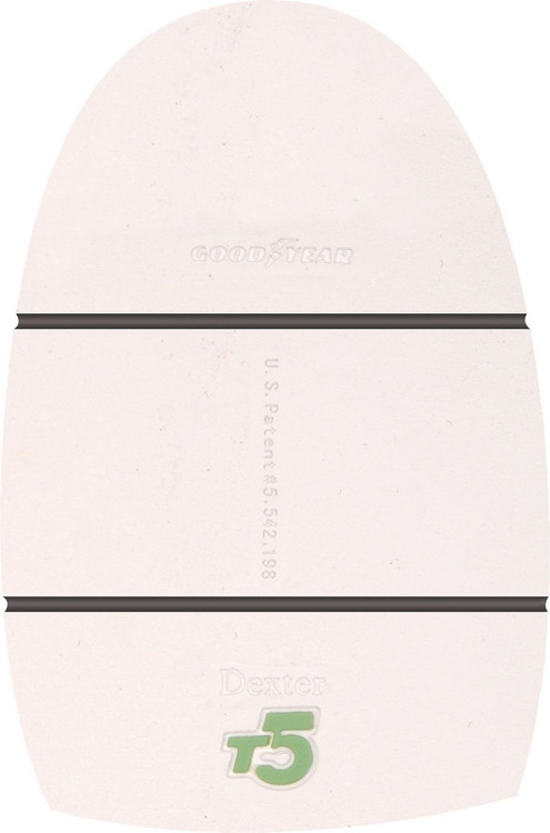 Dexter Replacement Sole THE 9 THT5 bottom view white
