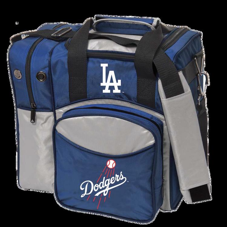MLB 1 Ball Single Tote Bowling Bag LA Dodgers