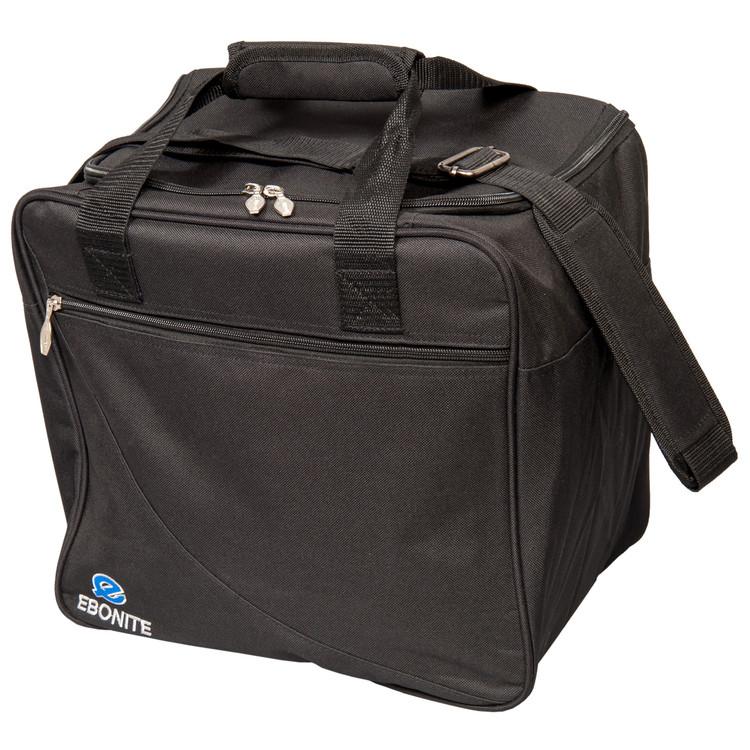 Ebonite Basic Single Tote Bowling Bag Black