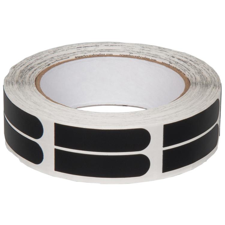 "Ebonite Ultra Grip 1/2"" Black Tape 500 Piece Roll"