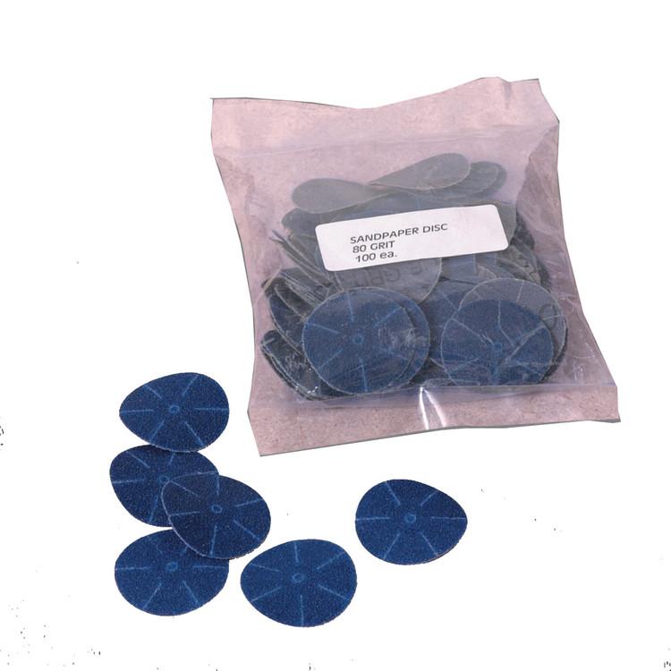 Powerhouse Sanding Discs 80 Grit (100 pcs)