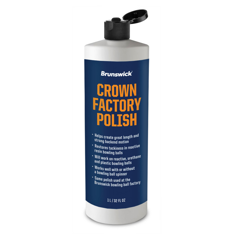 Brunswick Crown Factory Polish 32oz Bottle
