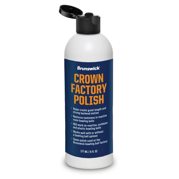 Brunswick Crown Factory Polish 8oz Bottle