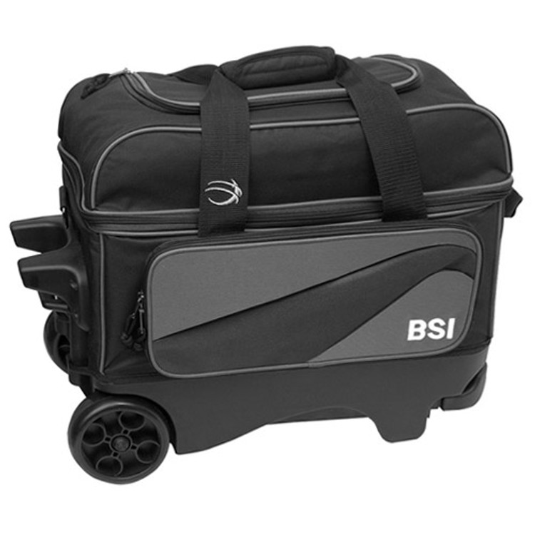 BSI Large Wheels Double Roller Grey Front View