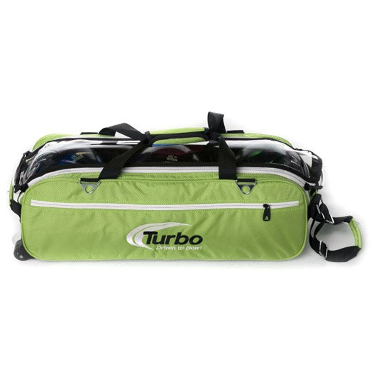 Turbo Express 3 Ball Travel Tote Lime Green