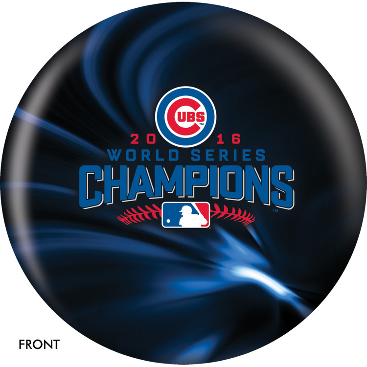 Chicago Cubs World Series Champions 2016 Front View
