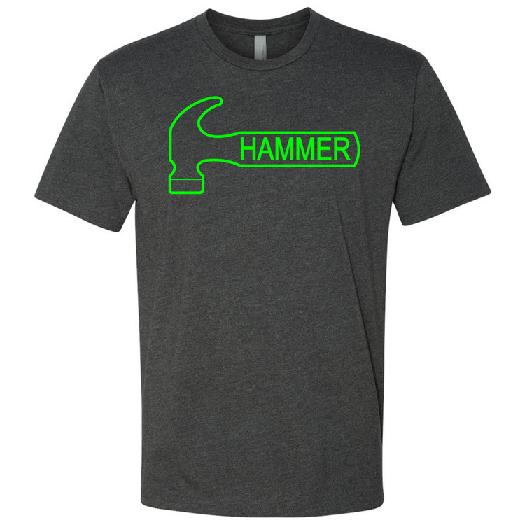 Hammer Classic Mens Tee Charcoal