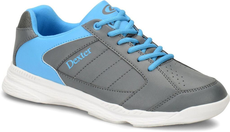 Dexter Ricky IV Mens Bowling Shoes Grey Blue