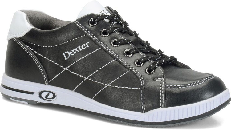 Dexter Deanna Plus Casual Comfort Womens Bowling Shoes Black White