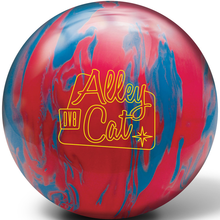 DV8 Alley Cat Red Blue Bowling Ball