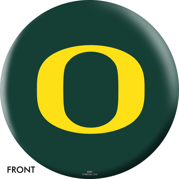 NCAA Oregon Ducks Bowling Ball