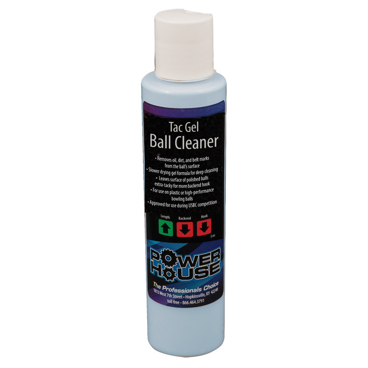 Powerhouse Tac Gel Bowling Ball Cleaner 5oz