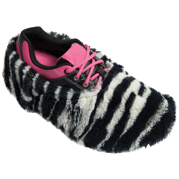 Robby's Fuzzy Shoe Cover Zebra
