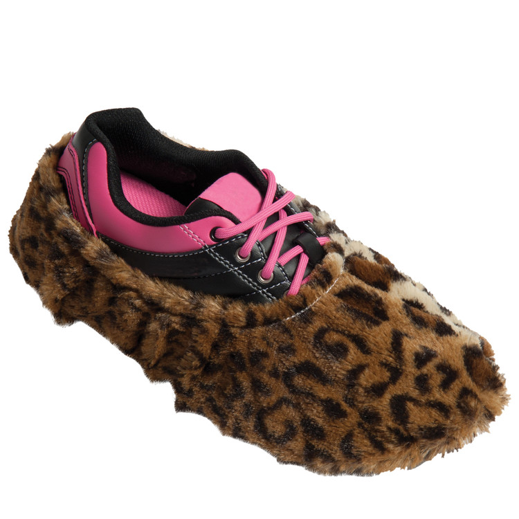 Robby's Fuzzy Shoe Cover Leopard