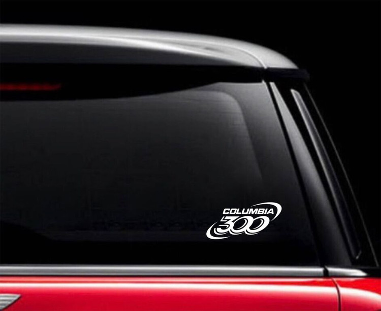 Columbia 300 Car Decal