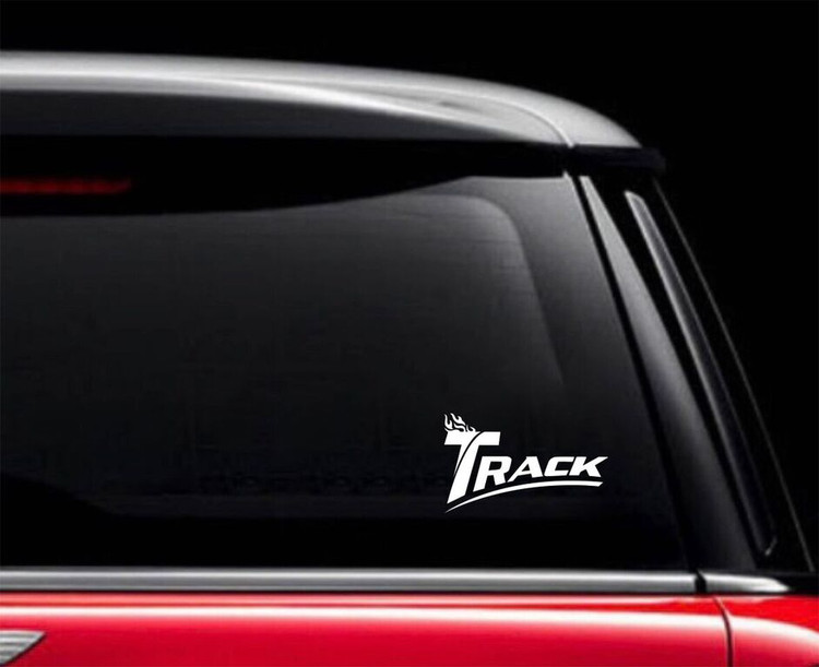 Track Classic Car Decal