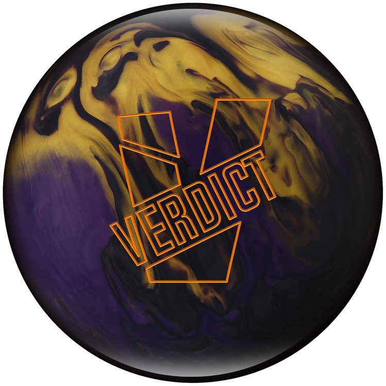 Ebonite Verdict Pearl Bowling Ball