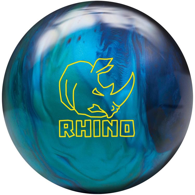 Brunswick Rhino Cobalt Aqua Teal Pearl Bowling Ball