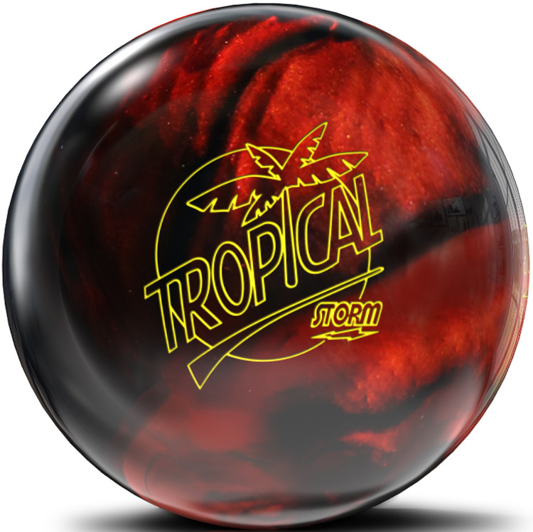 Storm Tropical Storm Black Copper Bowling Ball