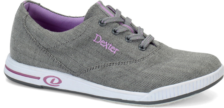 Dexter Kerrie Comfort Canvas Womens Bowling Shoes