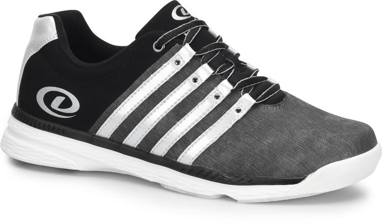 Dexter Kevin Mens Bowling Shoes Grey Silver Black