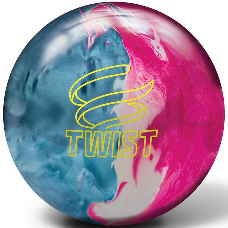 Brunswick Twist Black Blue Pink Snow Bowling Ball
