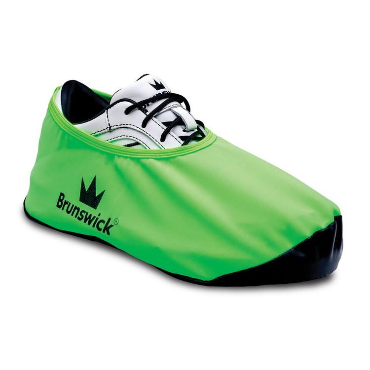 Brunswick Shield Shoe Cover Neon Green
